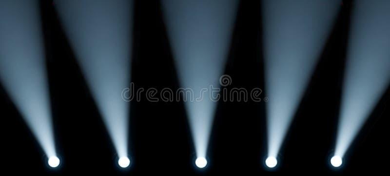światło reflektorów obrazy royalty free
