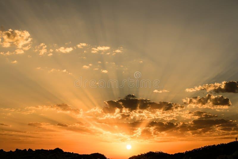 Światło słoneczne obraz royalty free