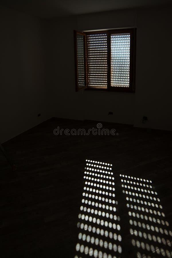 Światło słoneczne na podłoga zdjęcie stock