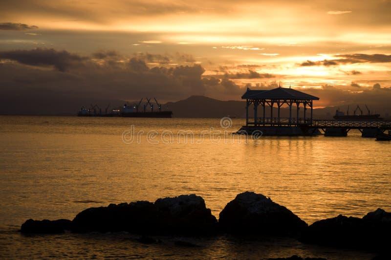 Światło słoneczne przy sichang Tajlandia zdjęcie stock