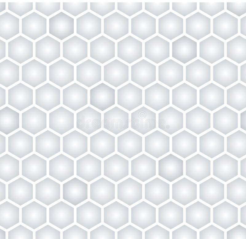 Heksagonalny bezszwowy wzór ilustracji