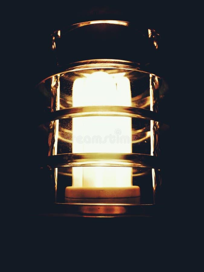 Światło w ciemności fotografia royalty free
