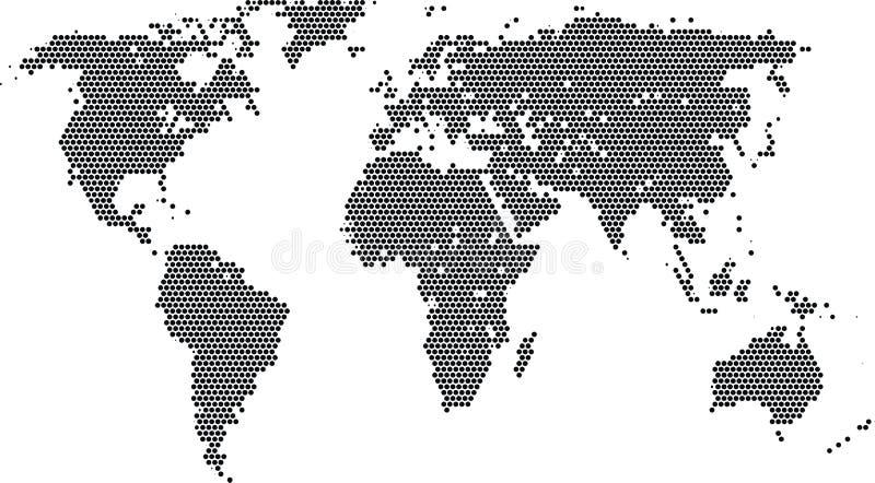 świat royalty ilustracja