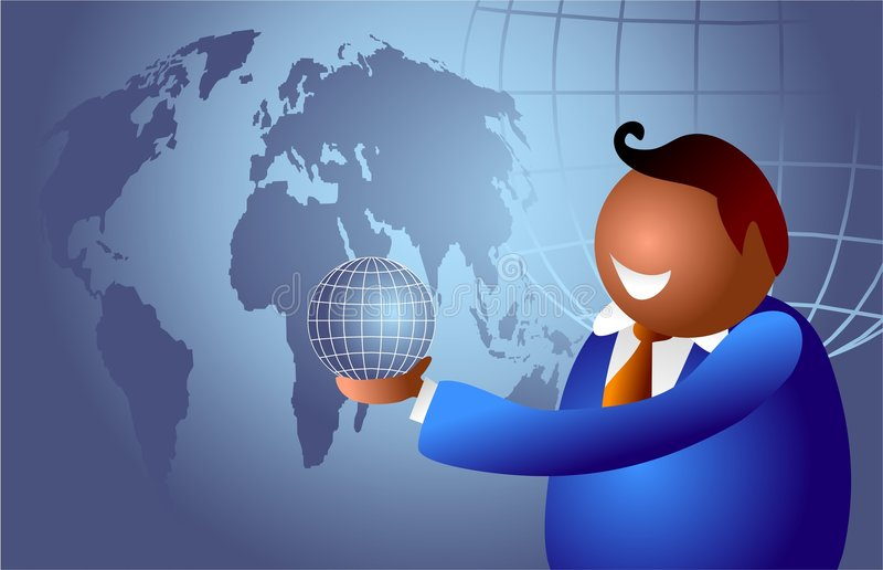 świat biznesu ilustracja wektor