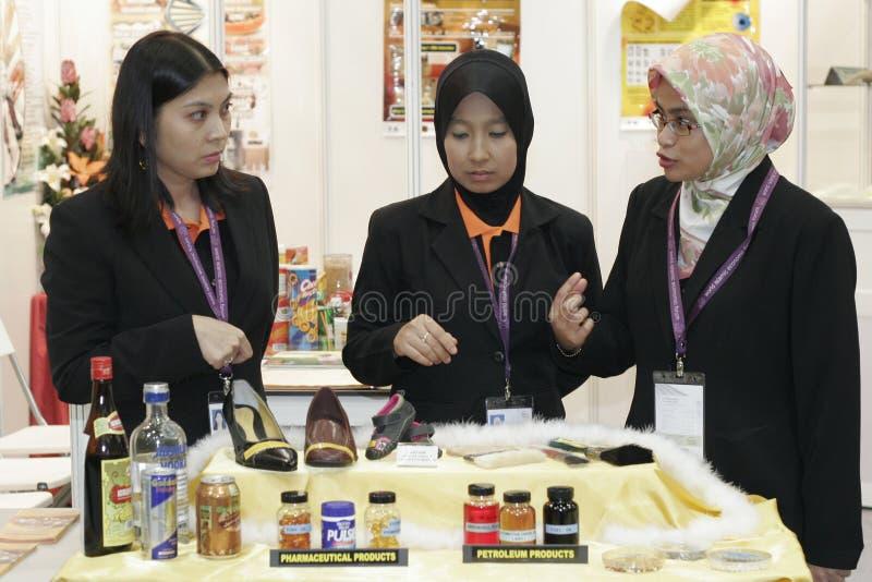 świat ekonomicznego forum islamski żony świat zdjęcia royalty free