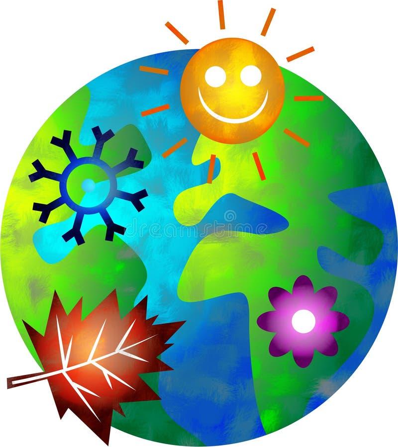 świat sezonowego ilustracja wektor