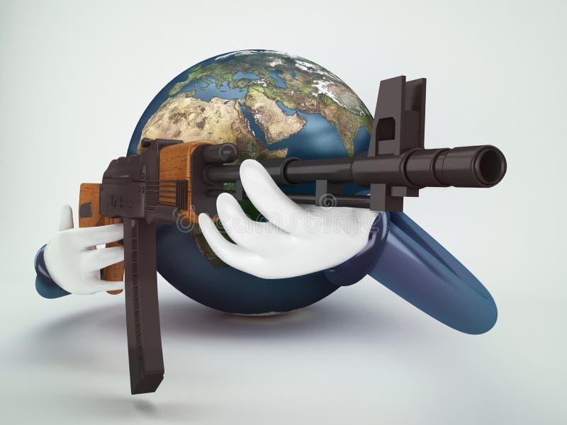 Świat wojna ilustracja wektor