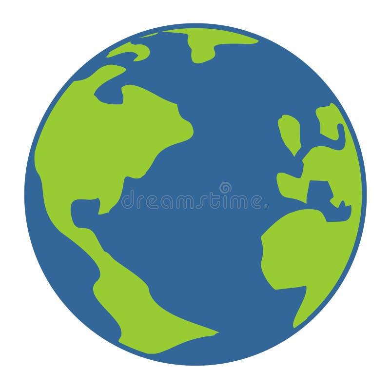 Światowa ikona ilustracja wektor