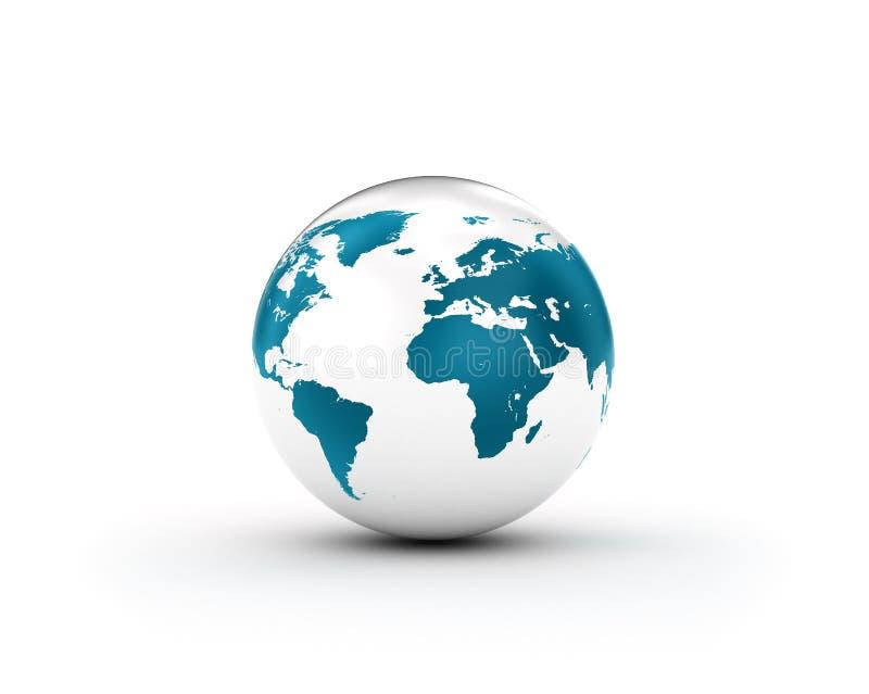 Światowa kula ziemska ilustracji