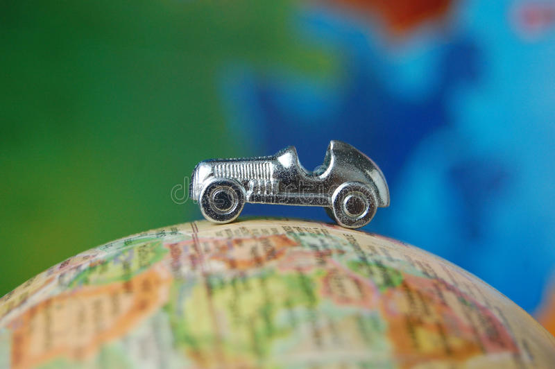 Światowa podróży wycieczka samochodowa fotografia stock