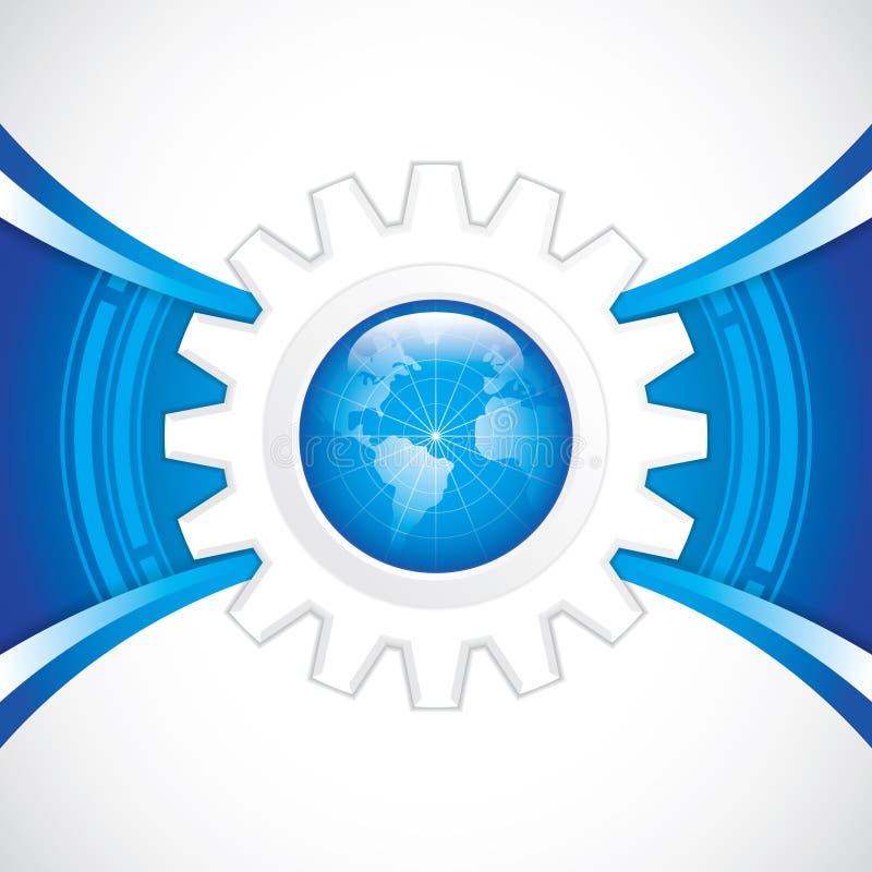 Światowa technologia royalty ilustracja