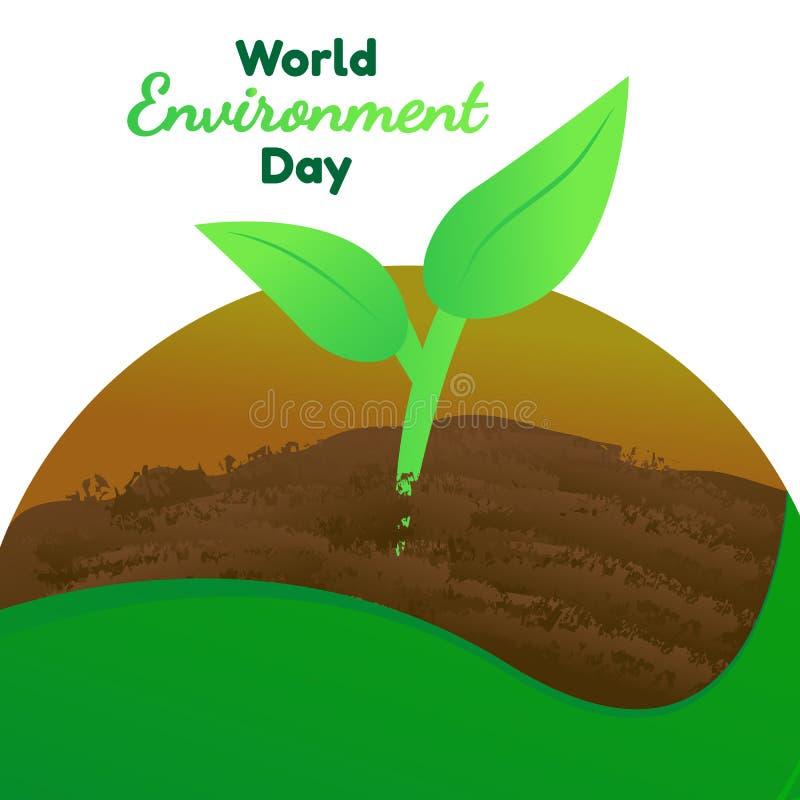 Światowego środowiska dnia wektor