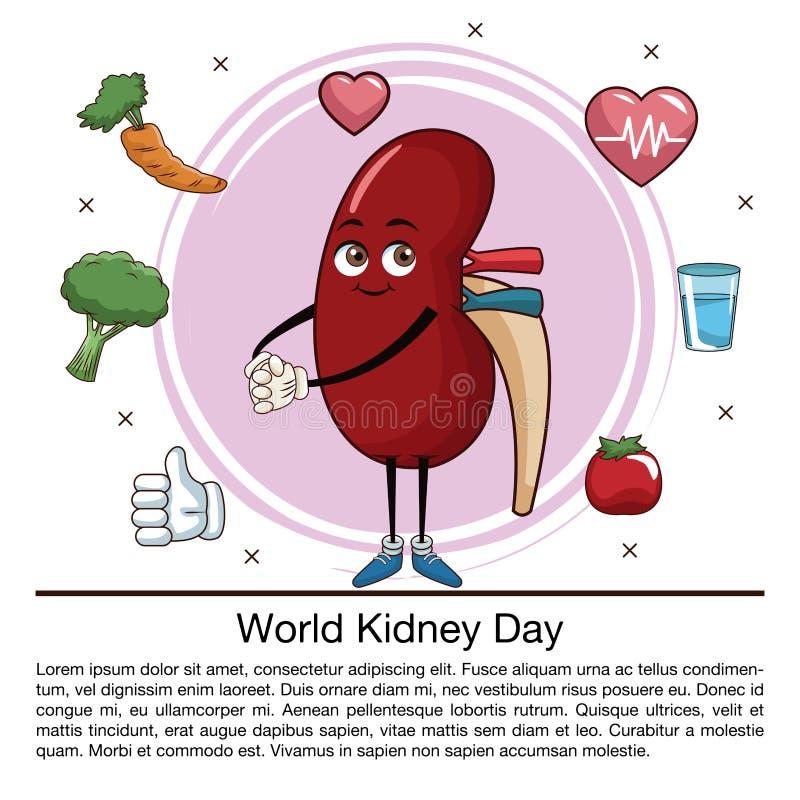 Światowego cynaderki dnia infographic kreskówka ilustracji