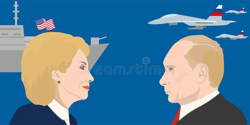 Światowego lidera temat royalty ilustracja