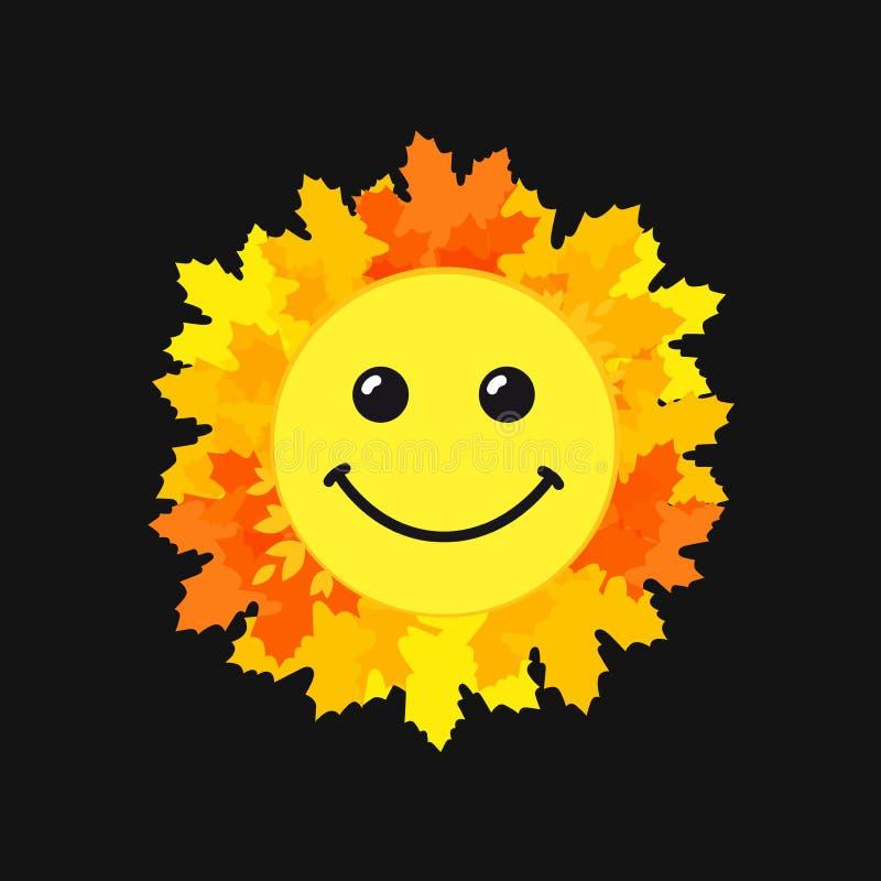 Światowej uśmiechu dnia sieci śliczny emblemat royalty ilustracja