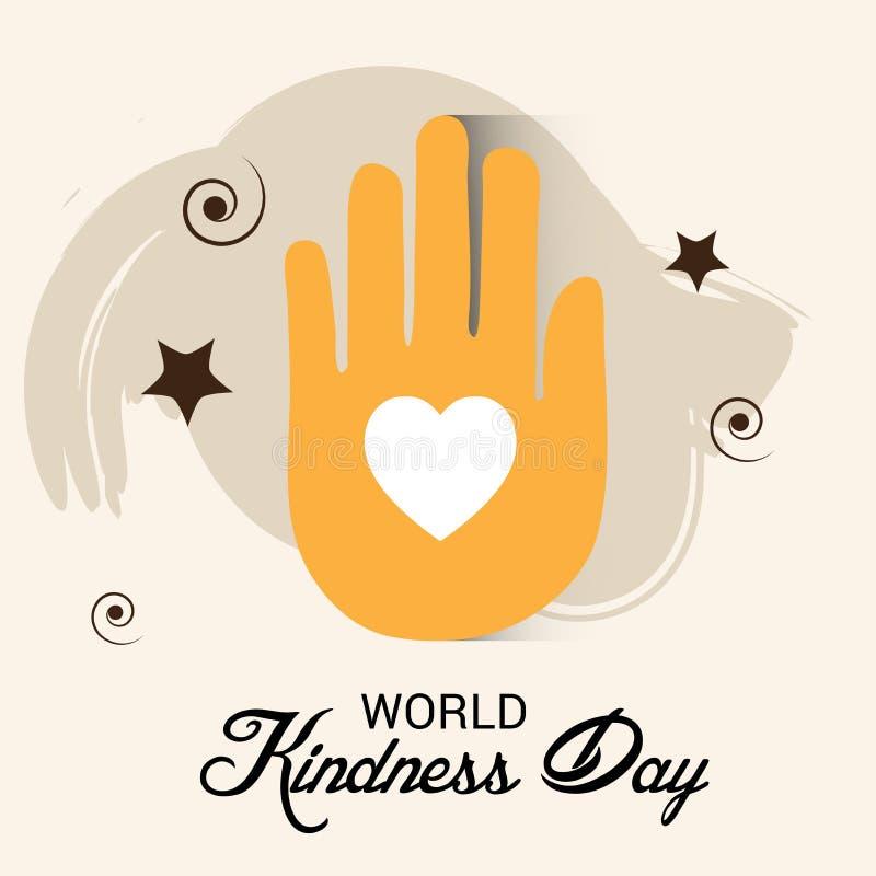 Światowy dobroć dzień ilustracja wektor
