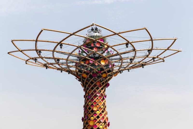 Światowy expo Mediolan zdjęcia royalty free