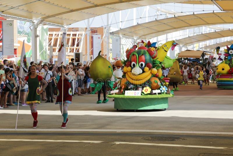 Światowy expo Mediolan fotografia royalty free