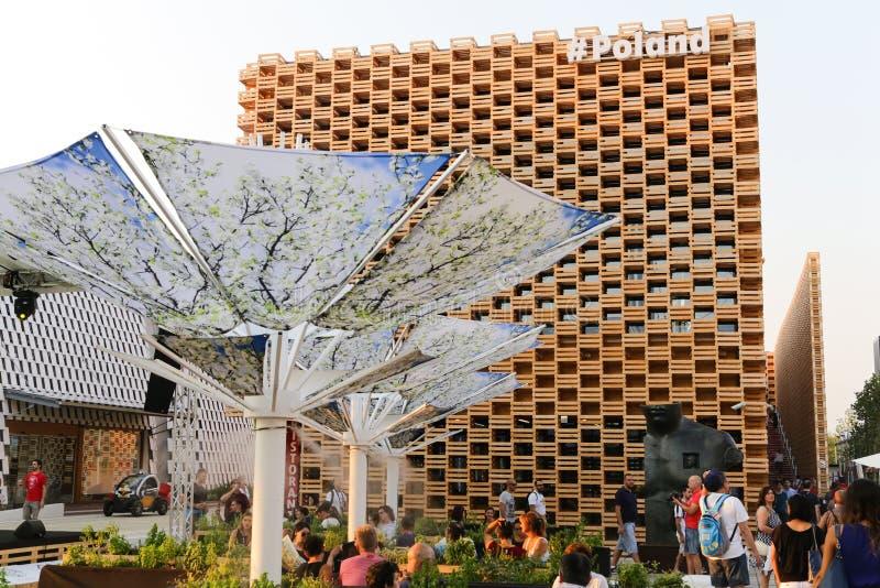 Światowy expo Mediolan zdjęcie royalty free