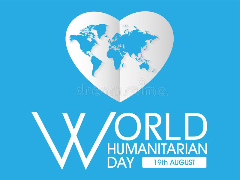 Światowy Humanitarny dzień ilustracji