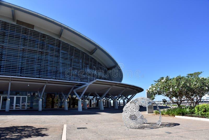 Światowy klasowy Darwin konwencji Centre obrazy stock