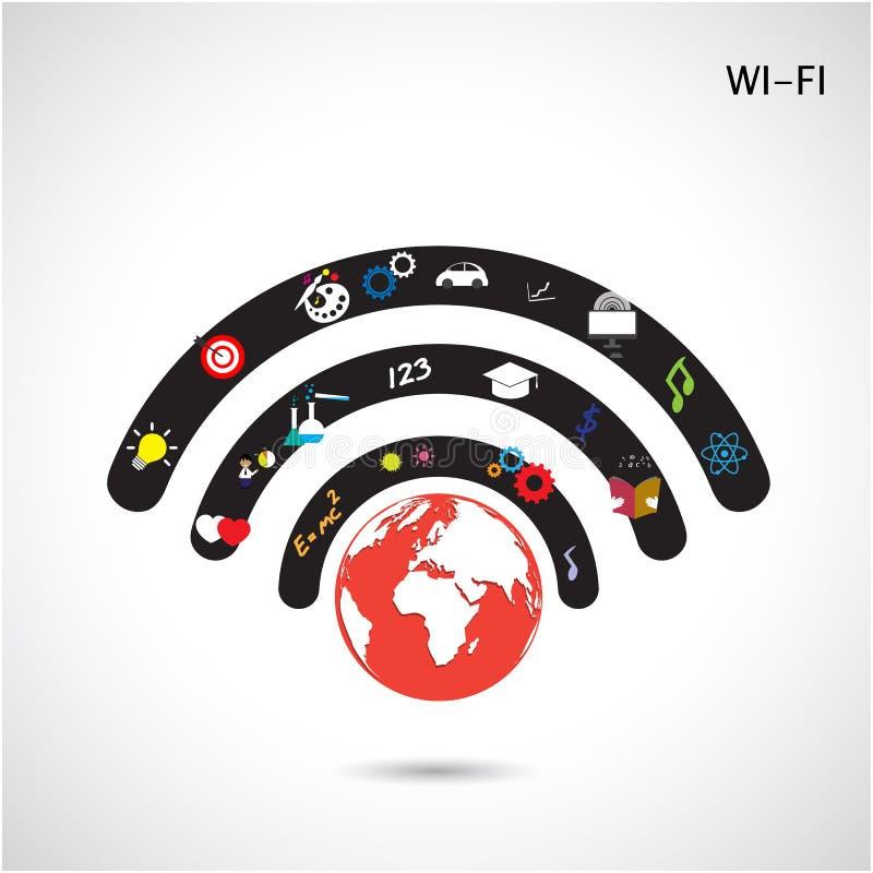 Światowy związek sieci projekt, globalny interneta pojęcie, sieć ilustracji