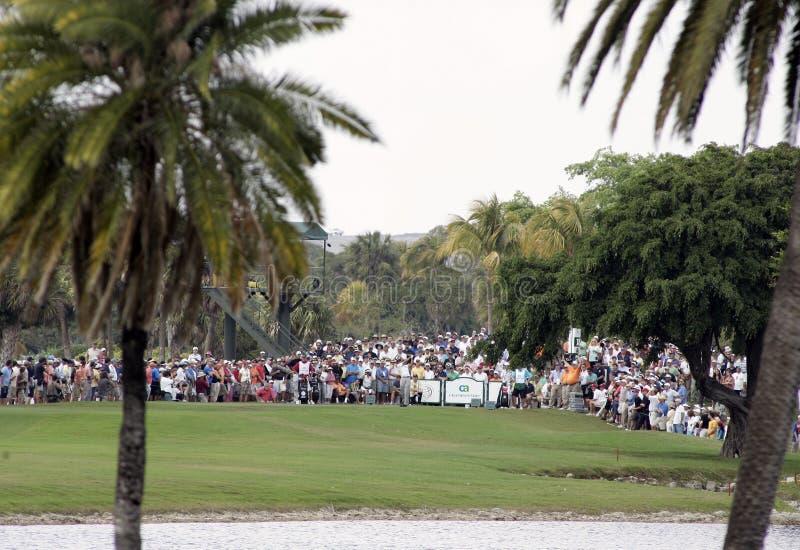 Światu CA Golfowy mistrzostwo w Doral zdjęcie royalty free