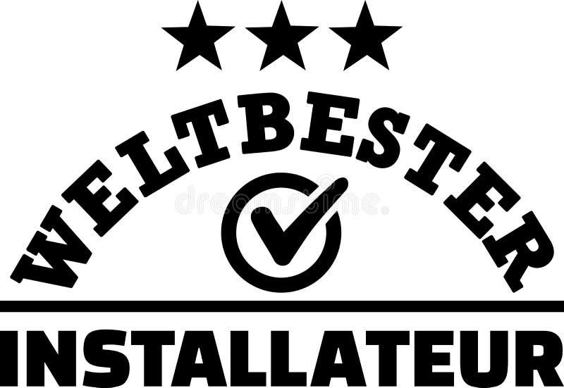 Światu installer najlepszy niemiec ilustracji