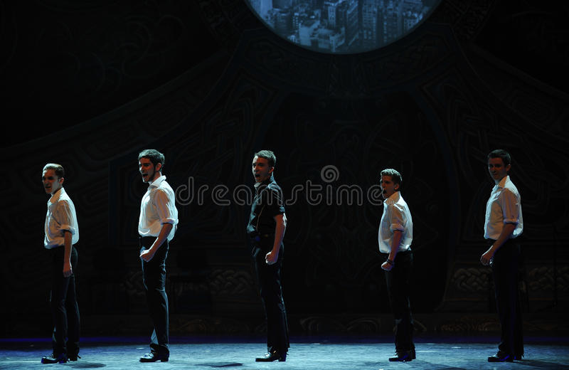Świder---Irlandzkiego Krajowego tana kranowy taniec zdjęcia stock