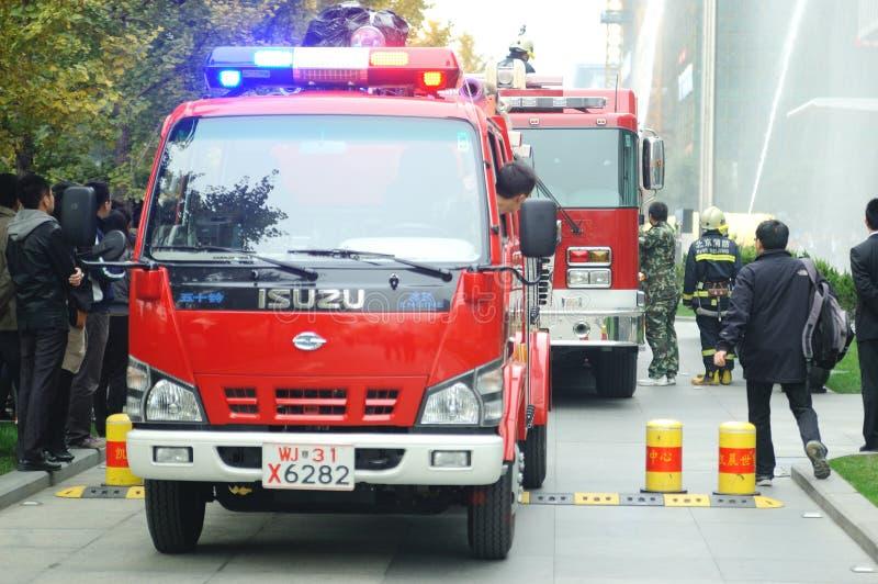 świderu ogień zdjęcie stock