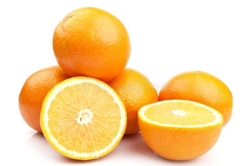 świeża ładna pomarańcze fotografia stock