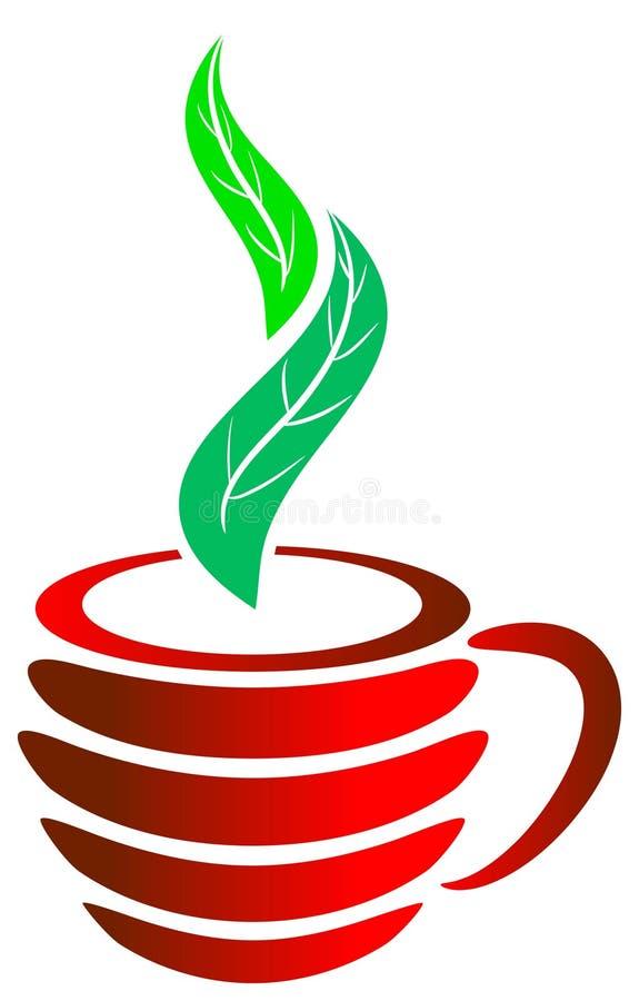 świeża herbata royalty ilustracja