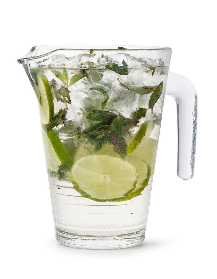 świeża lemoniada zimna zdjęcie stock
