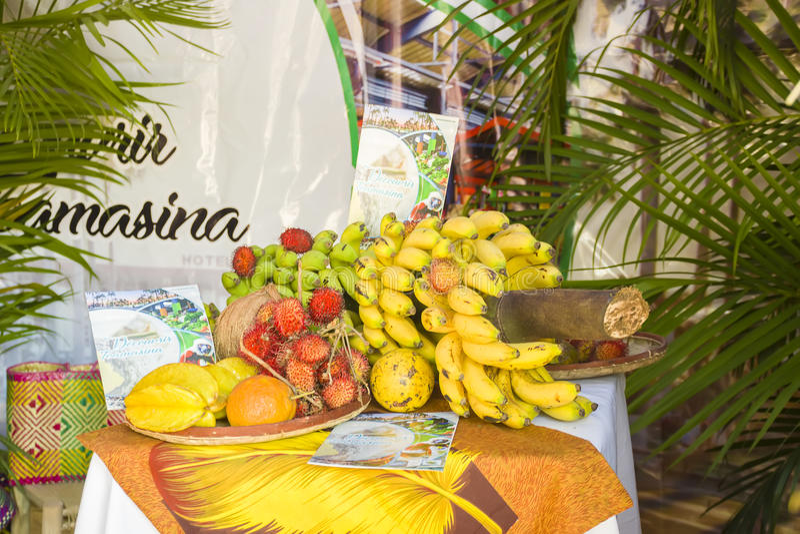 Świeża owoc od Madagascar zdjęcie royalty free