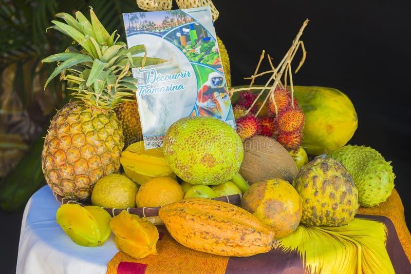 Świeża owoc od Madagascar zdjęcia stock