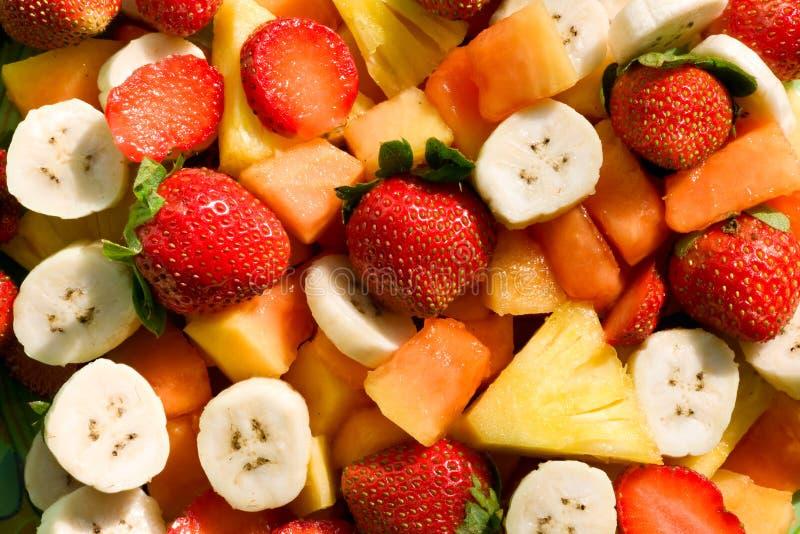 świeża owocowa sałatka zdjęcie stock