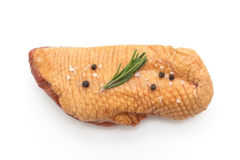 świeża surowa kaczki pierś zdjęcie stock