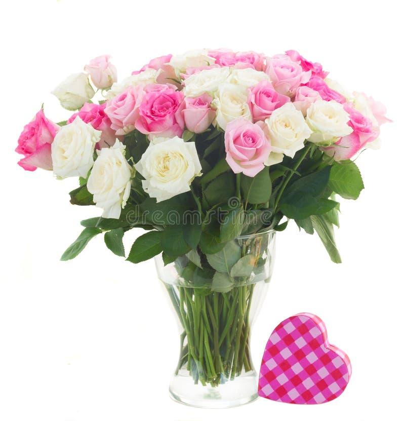 świeże bukiet róże obraz stock