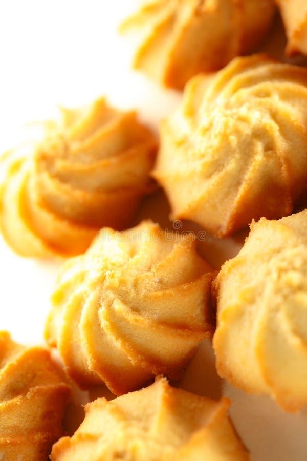 świeże ciasteczka zdjęcia stock