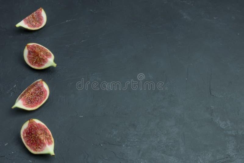 świeże figi towarzyszący zdobycza kurczaka kuchni kartoteki karmowej włoskiej fotografii poczta przerobowy fachowy surowy kumberl zdjęcia royalty free