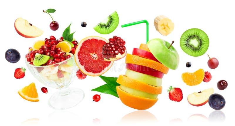Świeże mieszane owoc zdjęcie royalty free