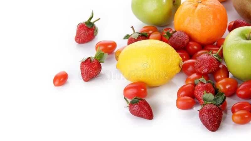 Świeże owoc z copyspace zdjęcia royalty free