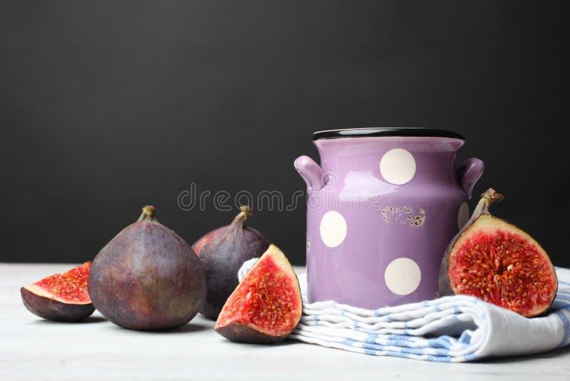świeże owoce figi zdjęcia stock