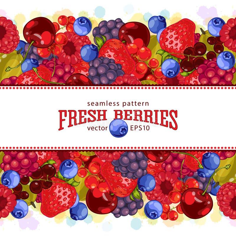 świeże owoce Jarski świeży produkt rolniczy ilustracji