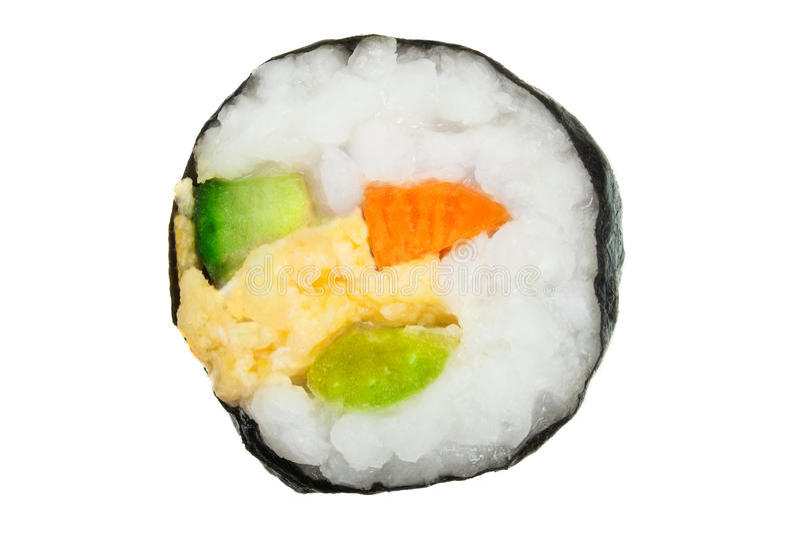 świeże rolka sushi fotografia stock