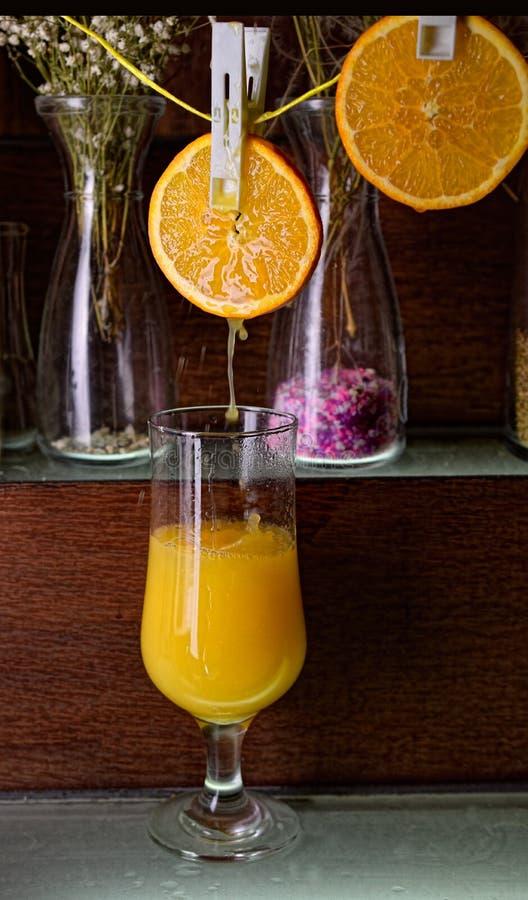 świeże sok pomarańczowy zdjęcia stock