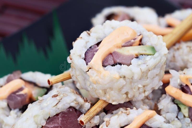 świeże sushi zdjęcia stock