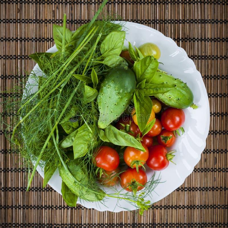 świeże warzywa ogrodowe zdjęcie stock