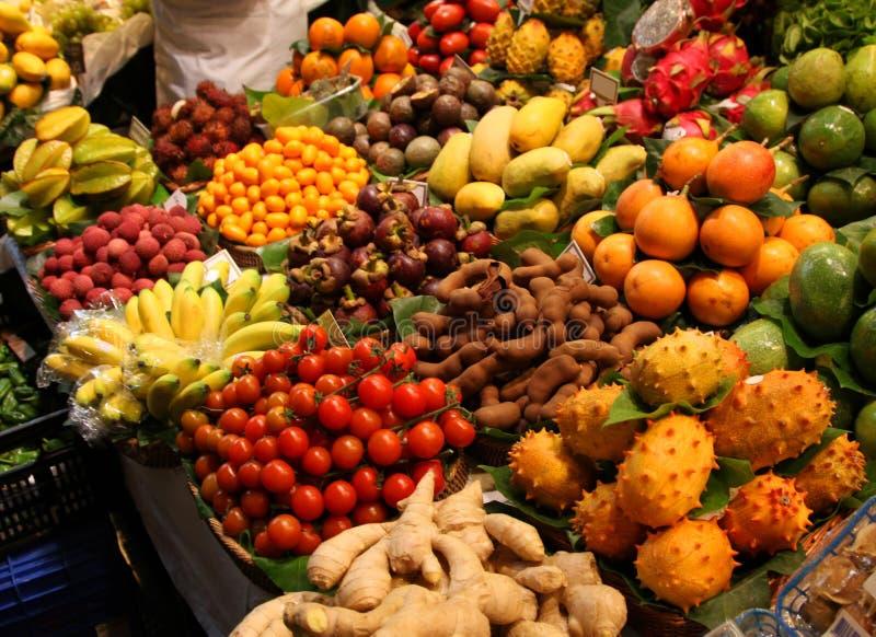 świeżego rynku produkty spożywcze obraz stock
