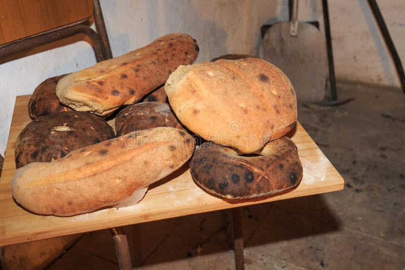 Świeżo piec chleb fotografia royalty free